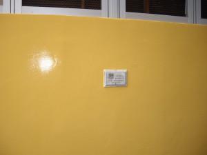 イタリアンレストラン 吹付け塗装